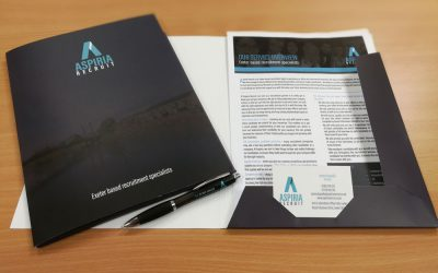 Our new marketing folders!
